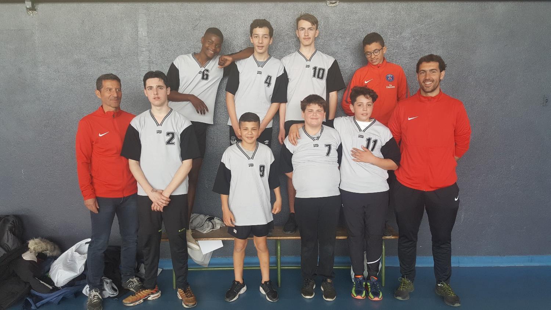 L'équipe de l'ITEP Le Grézan au championnat du Gard 2019 - Sport Adapté
