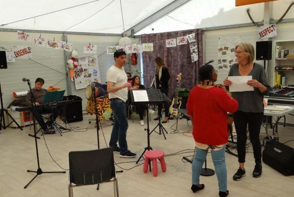 préparation de la fête de la musique 2019 à la communauté coste